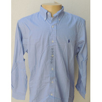 Ralph Lauren : Camisa Social Classic Fit 16 34/35