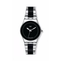 Swatch Yls168g Black Ceramic