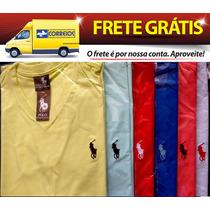 Kit Com 25 Camisetas Lisas Preço De Fábrica Frete Grátis