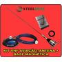 Kit Vhf Aviação: Antena 1/4 + Base Magnética - Top De Linha
