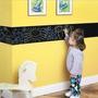 Quadro Negro Adesivo Parede - Gigante - O Sonho Das Crianças