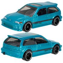 Hot Wheels 2014, City, Night Burnerz, 1990 Honda Civic Ef