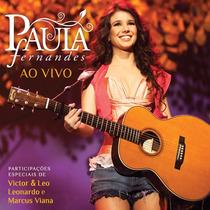 Cd Paula Fernandes - Ao Vivo