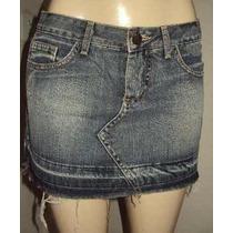 Mine Saia Jeans Sawary Tamanho M
