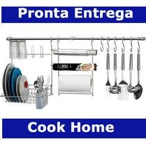 Kit Suporte De Cozinha Cook Home Arthi Lindo Com 11 Peças !