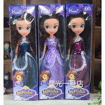 Boneca Princesinha Sofia -importada 23 Cm Vinil Ganhe Brinde