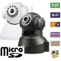 Câmera Ip Wifi Sem Fio Vigilância Pelo Celular Com 3g