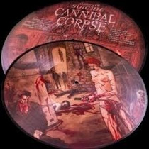 Cannibal Corpse Gallery Of Suicide Lp Picture Death Metal