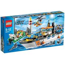 Brinquedo Novo Criança Lego City Patrulha Costeira 60014