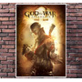 Poster Exclusivo God Of War - Game - Anime - Tamanho 30x42cm