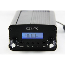 Transmissor De Fm Stéreo Pll - 7w - Pronta Entrega