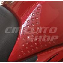 Protetor Lateral Knee Pad Tank Tanque Moto Honda Titan Fan