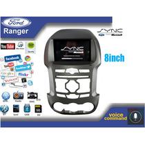 Central Multimidia Nova Ford Ranger Sistema Sync 2013 Á16