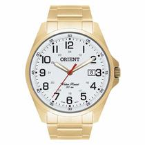 Relógio Orient Masculino Dourado Mgss1048 S2kx