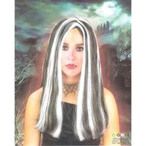 Fantasia Halloween Festas Peruca Longa Vampira Gótica!!!