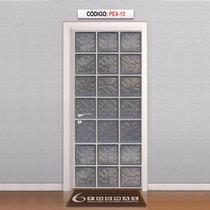 Adesivo Decorativo Para Porta Blocos De Vidro Mod Pex10