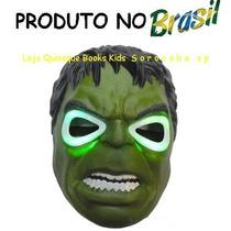 Máscara Do Incrivel Hulk Com Luzes