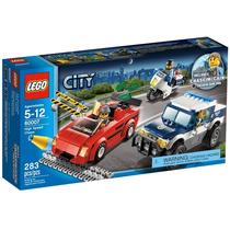 60007 Lego City Perseguição Da Polícia Em Alta Velocidade