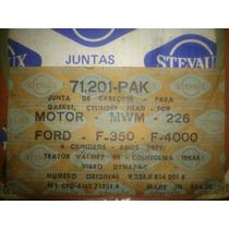 Junta Cabeçote: F350, F4000 ( Motor Mwm D226 - 4 Cilindros)