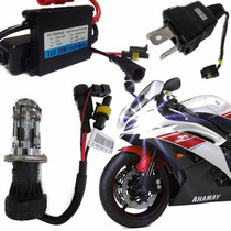 Kit Bi Xenon Moto Digital H4 4300k 6000k Alta Qualidade Ac