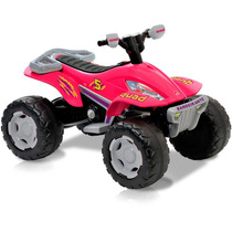 Quadriciclo Eletrico Fashion Moto 4 Rodas Menina Bandeirante