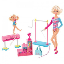 Barbie Quero Ser Professora De Ginastica -mattel Bbi26/y738