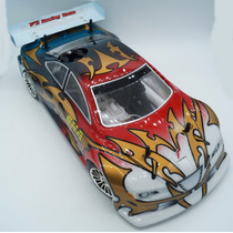 Carro De Controle Remoto Gt4 A Gasolina + Kit Starter
