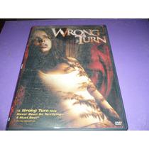 Wrong Turn - Panico Na Floresta- Dvd Importado Usa, Regiao 1