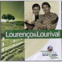 Cd Lourenço & Lourival - Globo Rural - Novo***