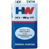 Bateria 9v Hi-watt 6f22m Controle Brinquedo