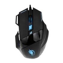 Mouse Gamer Usb Com Macro Black Hawk 2400dpi Fortrek Om703