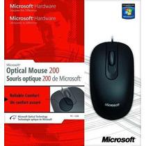 Mouse 200 Usb Microsoft Original Novo 35h