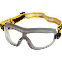 Óculos De Segurança Steelpro K2 Incolor, Vedação De Silicone