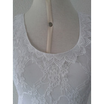 Vestido De Noiva Midi Longuete Levinho Em Renda Sob Medida