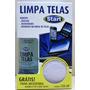 Limpa Telas Tvs,notebook,tablet,celulares,câmeras,óculos,gps