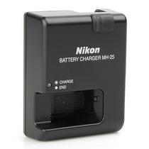 Carregador Mh25 De Baterias Nikon En El15 D7000 D800 1v1