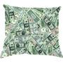 Almofada Notas De Dólares