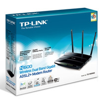 Roteador Wireles N600 Adsl2 + Modem Router Td-w8980