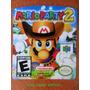 Label Mario Party 2 Nintendo - Etiquetas Fitas N64 Várias !