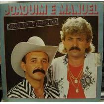 Lp Disco Vinil Joaquim E Manuel Som De Cristal 1987 Oferta