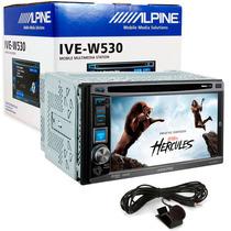 Central Multimídia Alpine Ive-w530 6.1 Pol C/ Bluetooth Usb