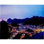 Tela Impressa Com Leds Panorama Rio De Janeiro Fullway