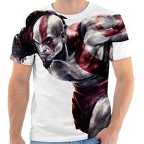 Camiseta Camisa Game Games God Of Wars Koh Estampada