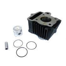 Cilindro Motor + Pistão + Anéis Std Completo Shineray Xy50 Q