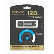 Pendrive Pny 128gb Turbo 3.0usb (p-fd128tbat2-ge)