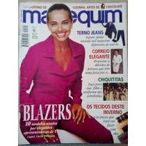 Manequim Abr/98 - Carla Vilhena - Molde Roupa Chiquititas