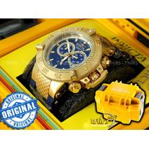 Invicta Subaqua 5515 Azul Raro 18k - C/ Maleta Promoção