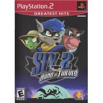 Sly 2 Band Of Thieves Ps2 Original Novo Lacrado