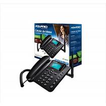 Telefone Celular Rural Fixo Mesa Aquário Ca-40