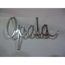 Emblema Opala Friso Grade Lanterna Brasão Paralama Letra Ss